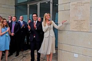 Sementara itu, peresmian Kedubes AS di Jerusalem dihadiri oleh anak Presiden AS Donald Tramp, Ivanka Trump dan Menkeu AS Steven Mnuchin.