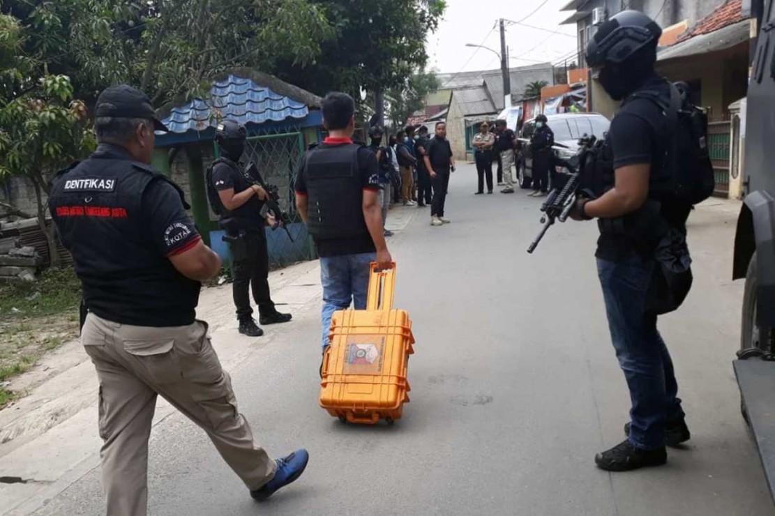 Densus 88 Amankan 2 Terduga Teroris di Tangerang