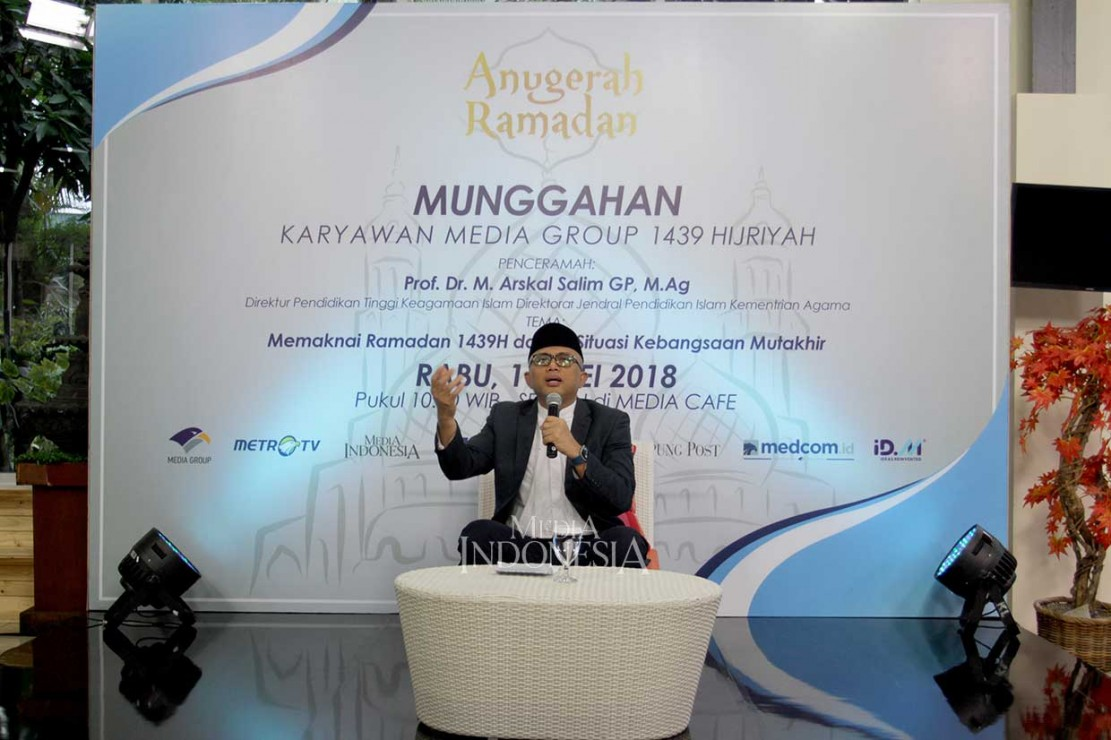Sementara dalam kajiannya Prof. Dr. M. Arskal Salim GP, M.Ag, Direktur Pendidikan Tinggi Keagamaan Islam Dirjen Pendidikan Islam Kemenag menyatakan bahwa Media Group memperkenalkan dan memopulerkan tradisi Indonesia yang tak ada di negara lain. Bagaimana budaya silaturahmi digabungkan dengan penyambutan bulan suci Ramadan.