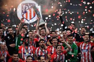 Los Colchoneros menjadi juara setelah menaklukkan Olympique de Marseille dengan skor 3-0. Bagi Atletico ini gelar Liga Europa ketiga kalinya setelah sebelumnya diraih pada musim 2009/2010 dan 2011/2012.