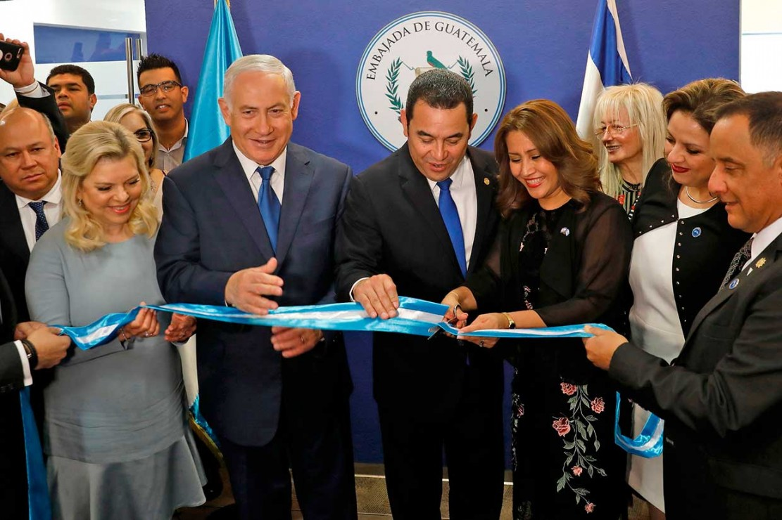 Susul AS, Guatemala Buka Kedubes di Jerusalem