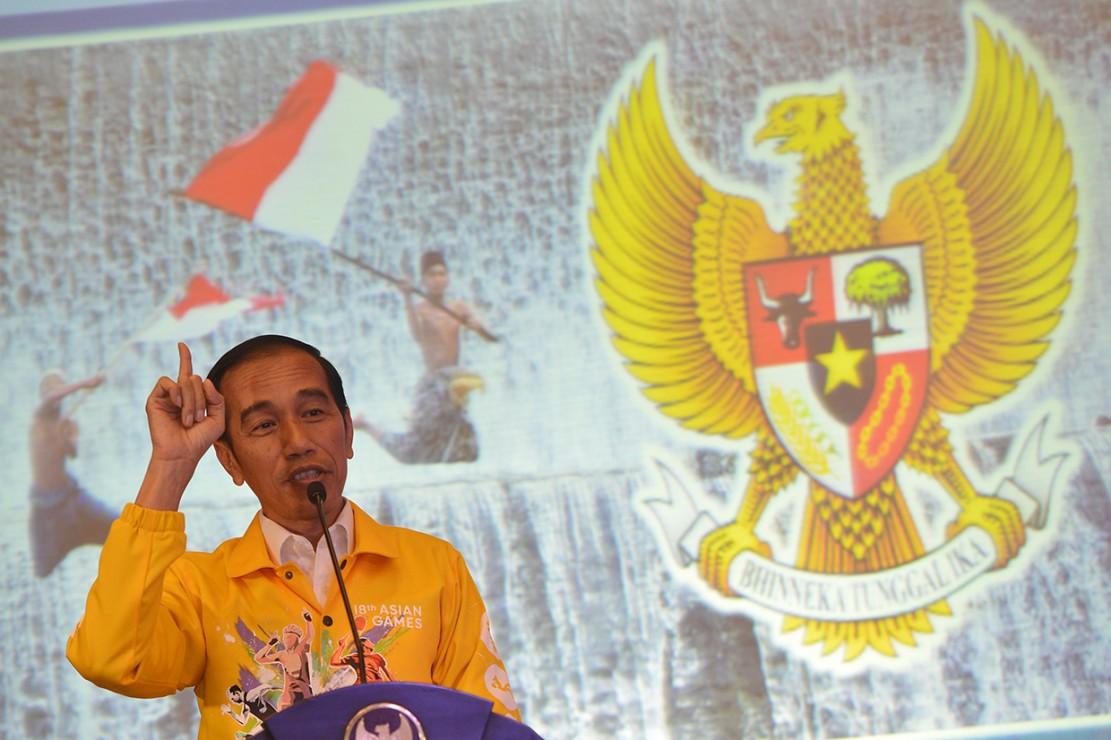 Presiden Buka Puasa Bersama Relawan Gojo