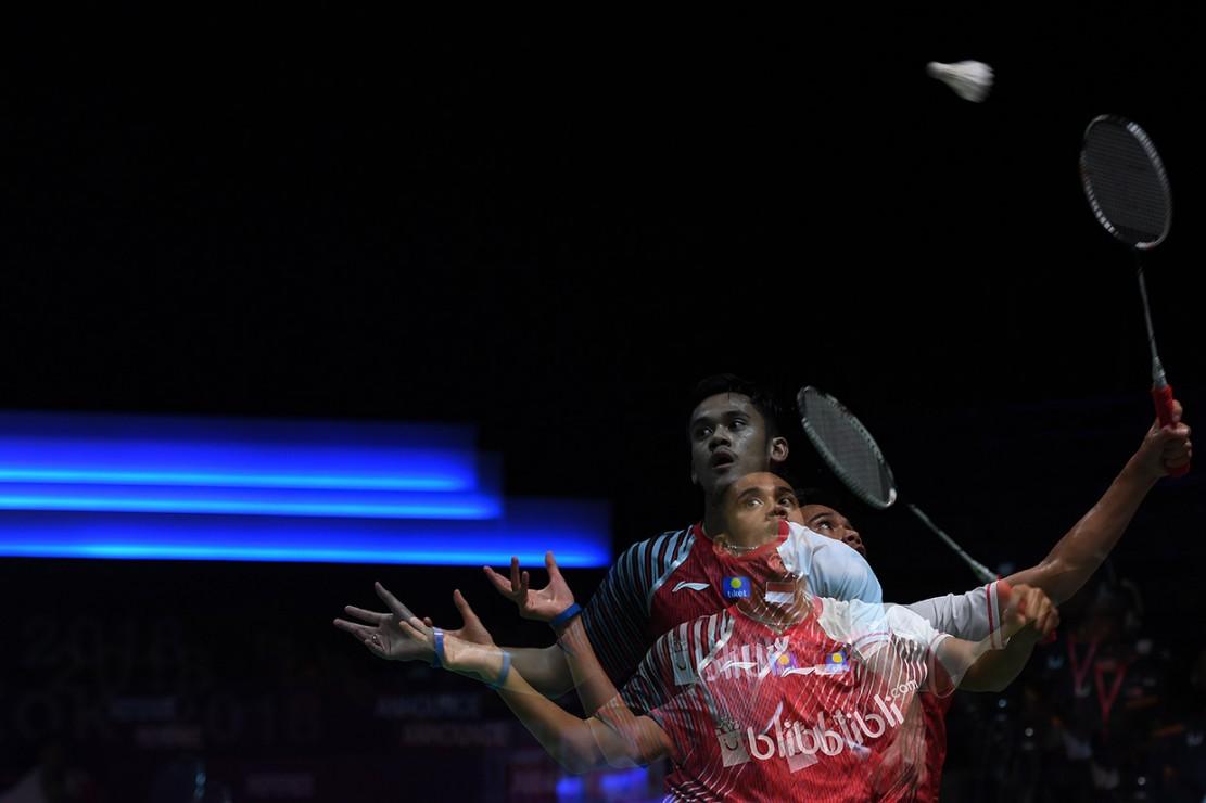 Tunggal ketiga Indonesia, Firman Abdul Kholik, menjadi penentu Indonesia meraih kemenangan. Tampil pada partai terakhir, Firman mengalahkan Ha Young-Woong dalam tiga gim dengan skor 20-22, 21-15, dan 21-12.