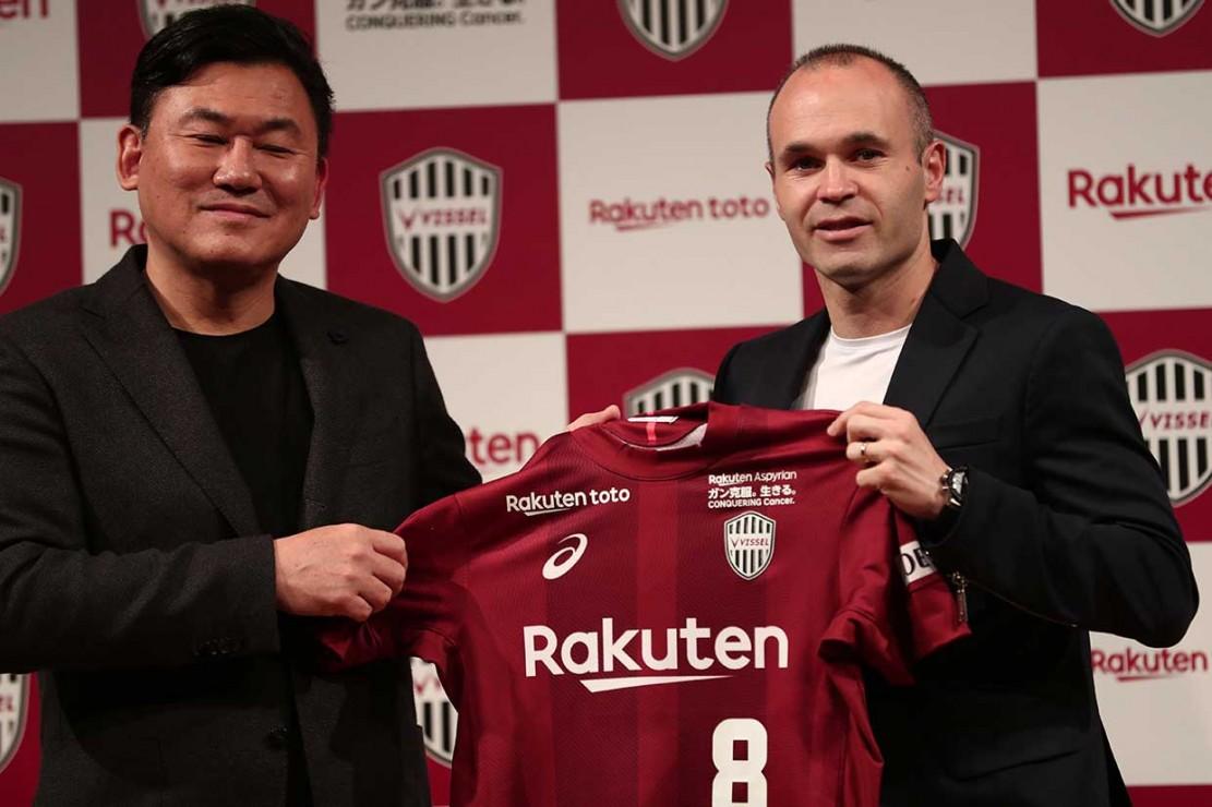 Iniesta Berlabuh di Klub Jepang