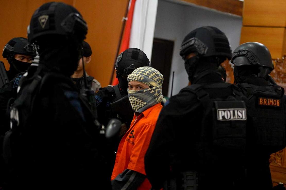 Aparat Perketat Pengamanan Sidang Aman Abdurrahman