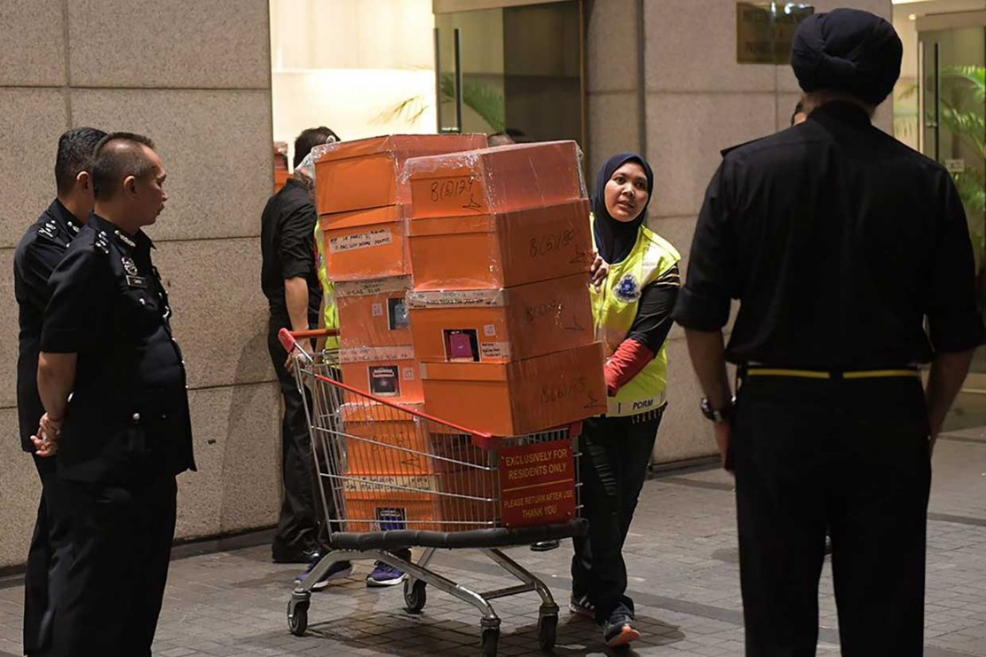 Rp404 Miliar Disita dari Rumah Najib Razak