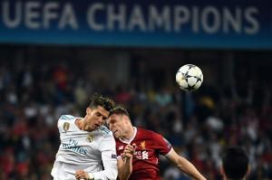 Madrid dan Liverpool berduel ketat di babak pertama. Skor 0-0 menghiasi paruh pertama pertandingan. AFP/FRANCK FIFE