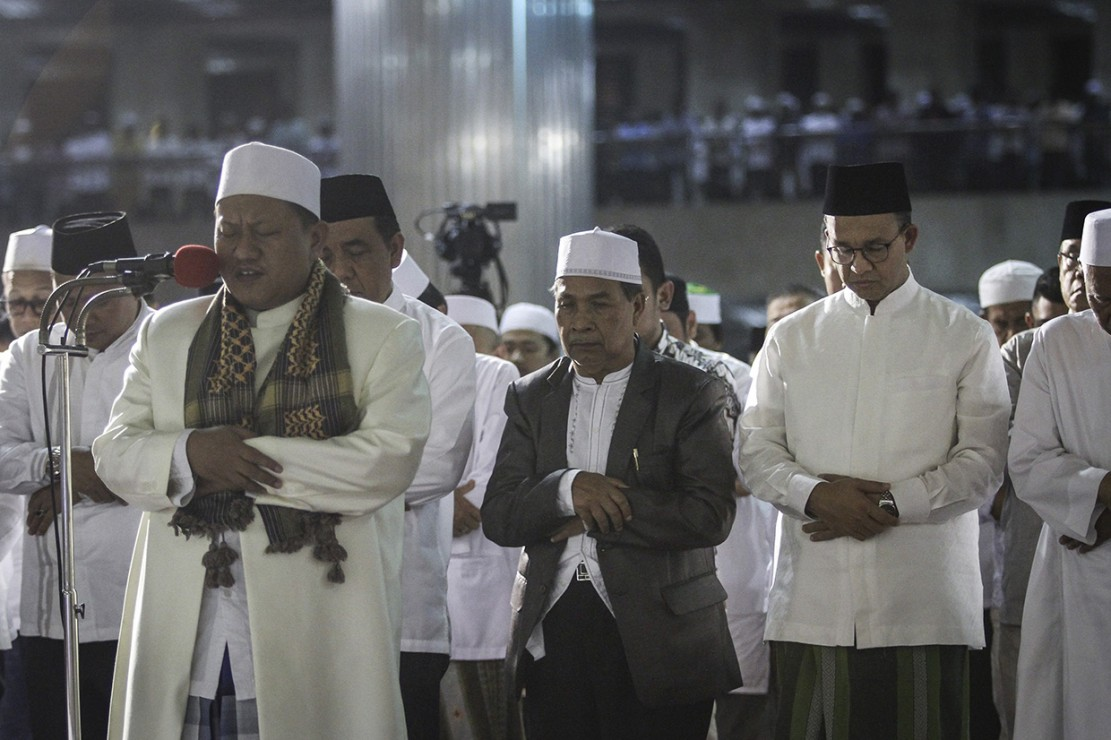 Salat Tarawih Akbar di Masjid Istiqlal