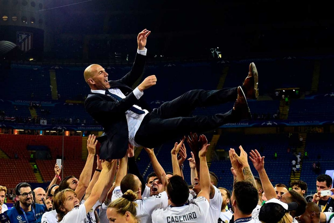 Zidane Mengundurkan Diri Sebagai Pelatih Madrid
