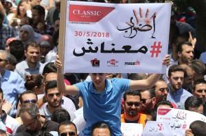 Bagian pembayar pajak penghasilan di Yordania juga diperkirakan naik dari 4,5 persen sampai 10 persen segera setelah rancangan tersebut diberlakukan.