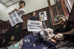 Kegiatan tersebut dalam rangka memperingati hari lahir ke-117 Presiden RI Soekarno.