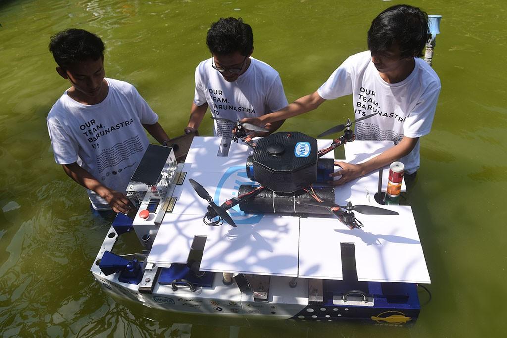 Tim Robot ITS Siap Berlaga di Ajang RoboCup Kanada