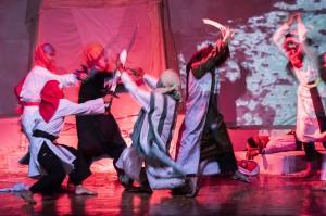Kasidah Cinta Al-Kubra karya Rosyid E. Abby ini merupakan rangkaian dari pentas episode drama musikal religi Sunda Kasidah Cinta, yang digelar setiap tahun di bulan Ramadan (sejak 2006) oleh kelompok Teater Senapati Bandung.