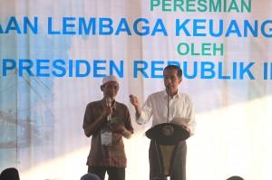 Presiden berharap pembiayaan Bank Mikro Nelayan itu bisa menjadi permodalan bagi nelayan untuk mengembangkan usaha.