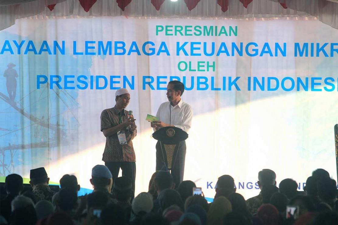 Jokowi Minta Pembiayaan Bank Mikro Nelayan untuk Modal