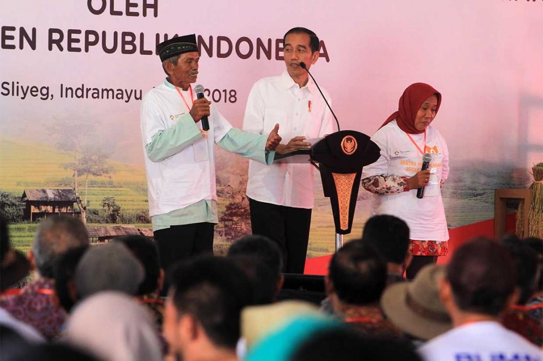 Jokowi Resmikan Digitalisasi Sistem Pertanian