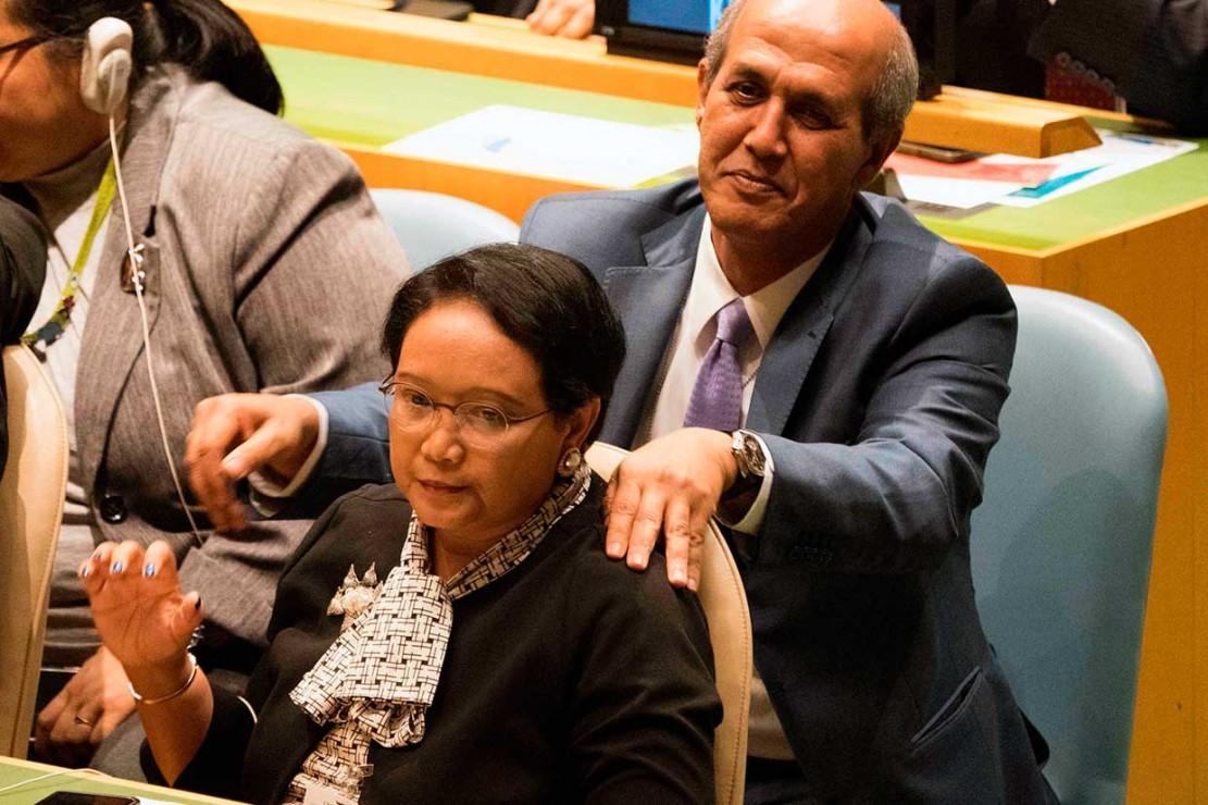 Dalam pemungutan suara, Indonesia mengalahkan Maladewa dengan perolehan 144 suara dari 190 negara anggota PBB, sementara Maladewa hanya memperoleh 46 suara. Indonesia sebelumnya pernah menjadi anggota tidak tetap DK PBB pada periode 1973-1974, 1995-1996, dan 2007-2008.