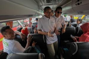 Sandiaga menyampaikan apresiasinya kepada BPJS Ketenagakerjaan yang telah memberikan kemudahan dan kebahagiaan kepada masyarakat Jakarta, khususnya tenaga kerja di wilayah DKI Jakarta yang menjadi peserta BPJS Ketenagakerjaan, untuk melaksanakan kegiatan 'Mudik Bersama Tahun 2018'.