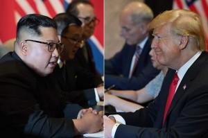 Ini merupakan pertama kalinya pemimpin kedua negara bertemu langsung sejak Perang Korea berakhir pada 1953 dengan gencatan senjata.