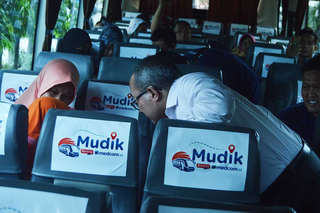 Media Group Lepas Peserta Mudik Bareng 2018