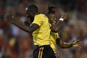 MichyBatshuayi melengkapi kemenangan impresif Belgia menjadi 4-1 pada menit ke-64.