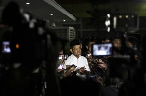 Menteri Sosial Idrus Marhan mengatakan, program rehabilitasi untuk tujuh anak dari pelaku terorisme di Surabaya bertujuan untuk mengikis kemungkinan paham-paham radikalisme yang diwariskan dari orang tua mereka. Antara Foto/Dhemas Reviyanto
