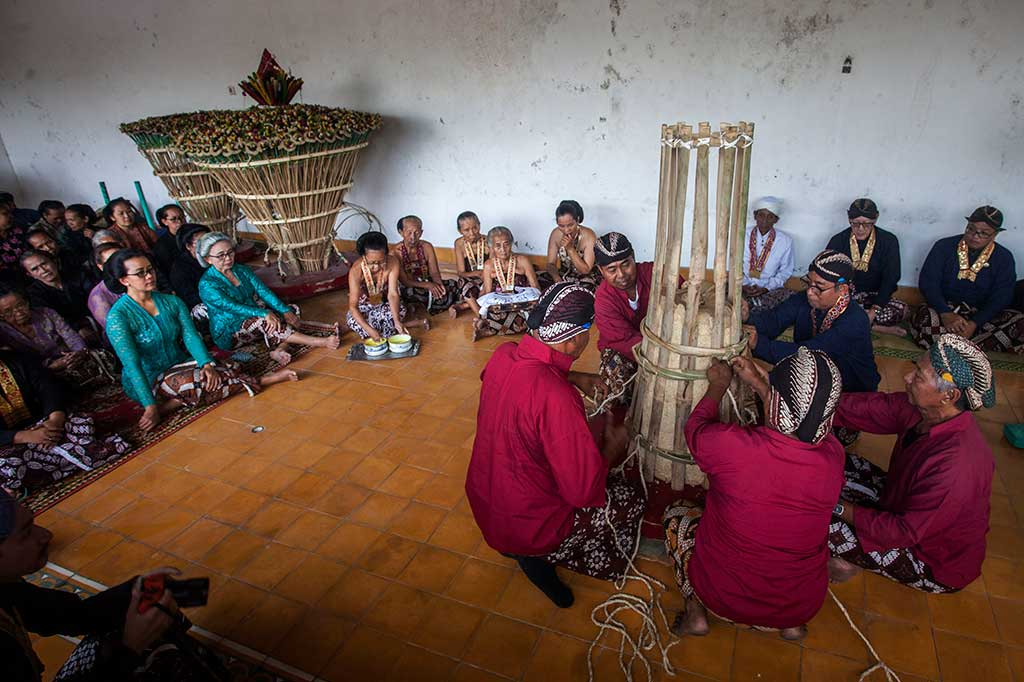 Tradisi Tumplak Wajik Keraton Yogyakarta
