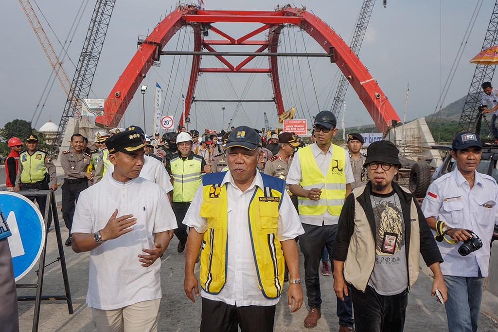 Jembatan Kalikuto Dibuka Hari Ini