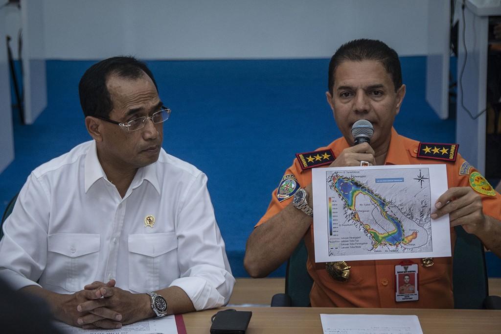 KM Sinar Bangun tenggelam pada Senin (18/6). Korban yang hilang dilaporkan berjumlah 186 orang. Sebanyak 94 orang teridentifikasi, sedangkan 92 orang belum diketahui identitasnya. Antara Foto/Aprillio Akbar