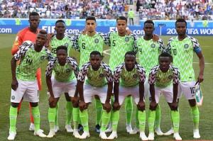 Nigeria sejak awal pertandingan memasang Onyinye Wilfred Ndidi, Kelechi Iheanacho, Ahmed Musa, John Obi Mikel, dan Victor Moses, sebagai pemain inti.