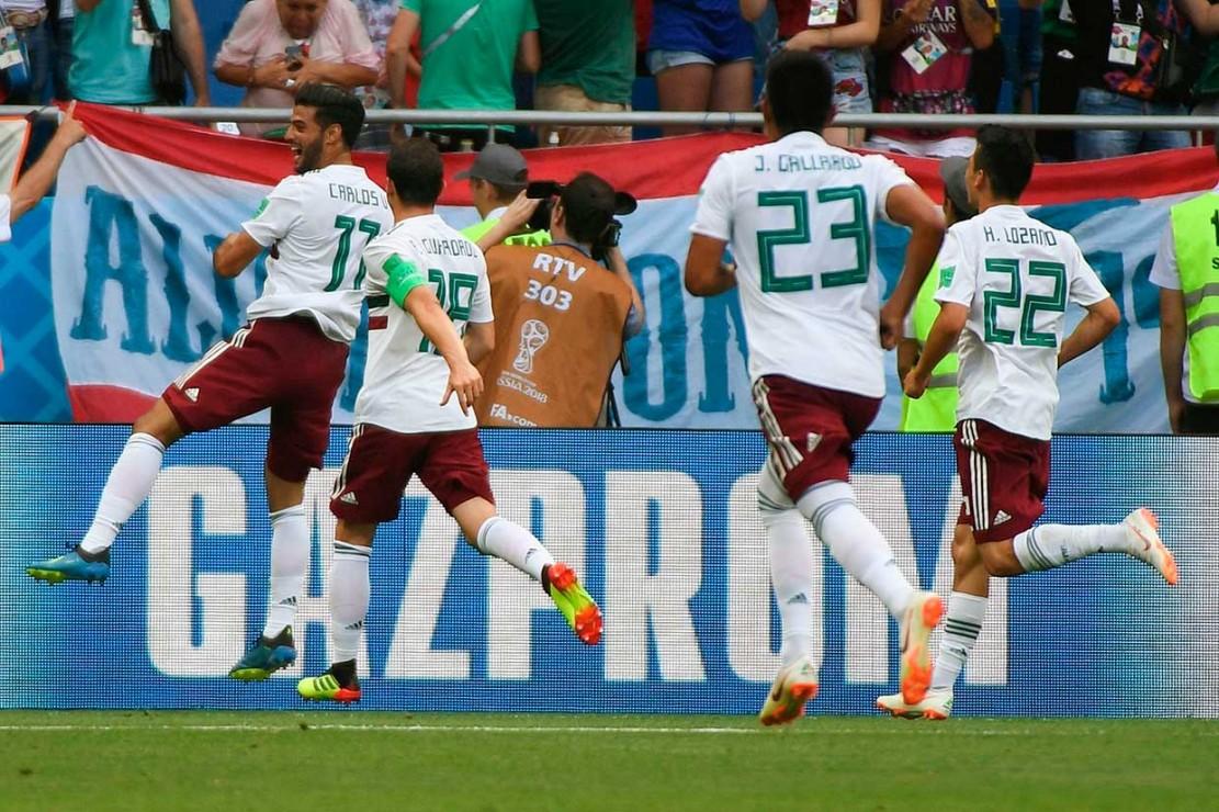 Meksiko Tekuk Korsel 2-1