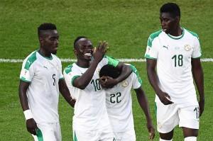 Menit ke-71 Senegal kembali unggul lewat sontekan Moussa Wague.