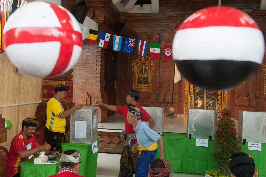 TPS Ini Suguhkan Nuansa Piala Dunia