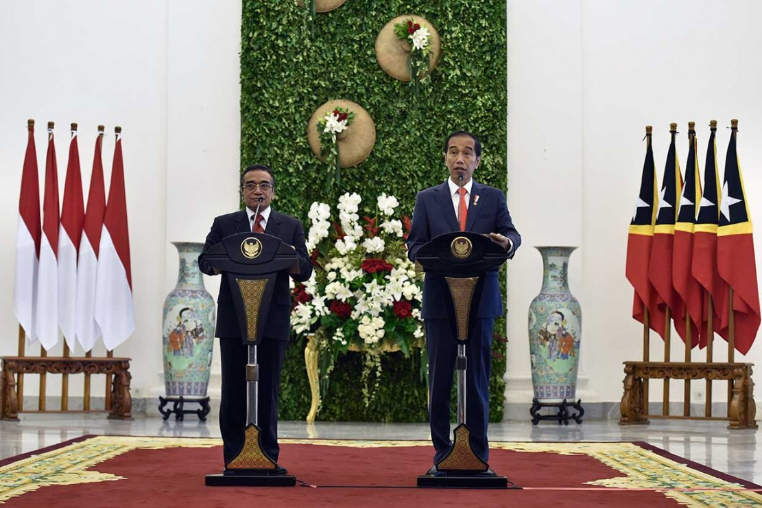 Jokowi Puji Timor Leste Dukung RI di DK PBB