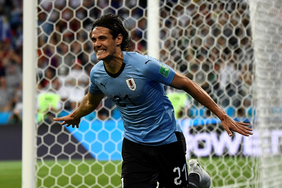 Brace Cavani Bawa Uruguay Singkirkan Portugal