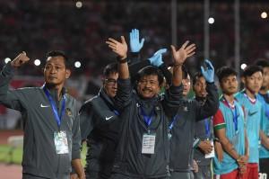 Pelatih Indonesia Indra Sjafri mengaku puas dengan permainan anak asuhnya ini meskipun ada beberapa kesempatan yang belum bisa diselesaikan dengan maksimal.