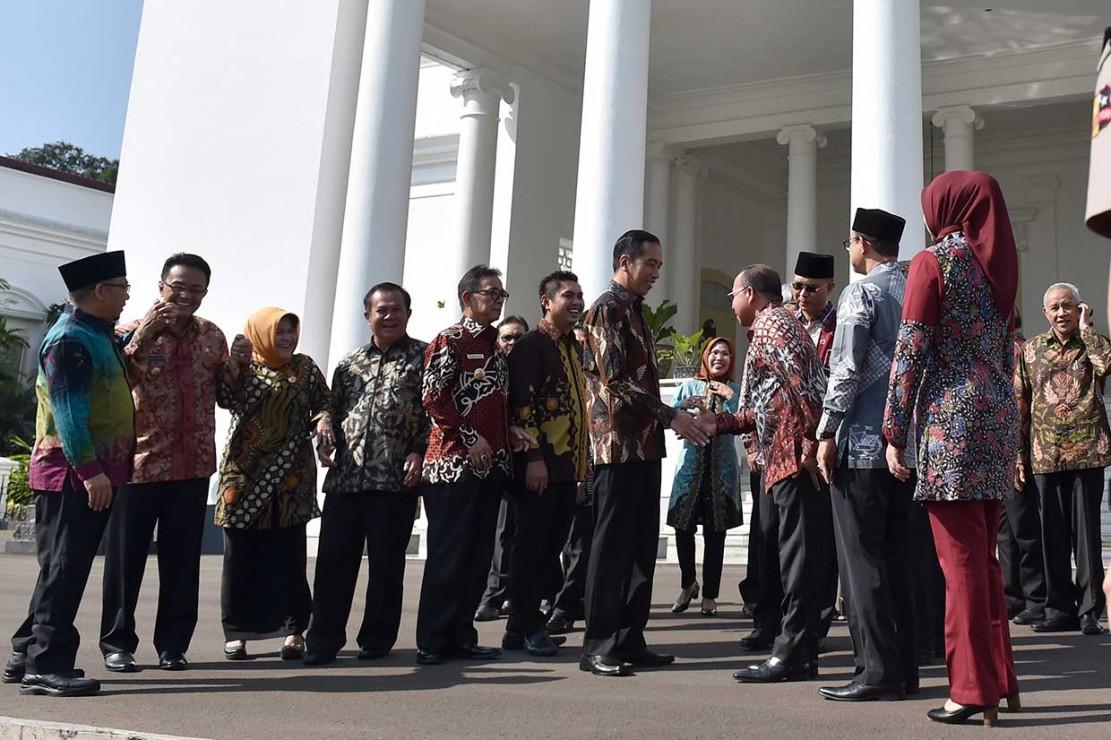 Jokowi Ingin Pemerintah Pusat-Daerah Satu Garis