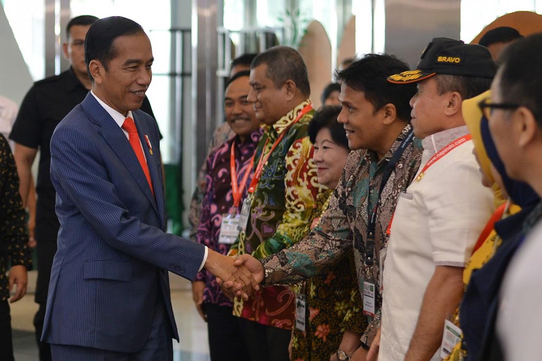 Jokowi Kunjungi Pameran Indo Livestock 2018