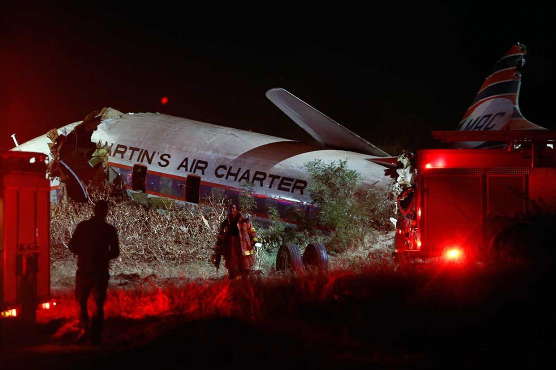 Pesawat Jatuh di Afrika Selatan, 1 Orang Tewas, 20 Terluka