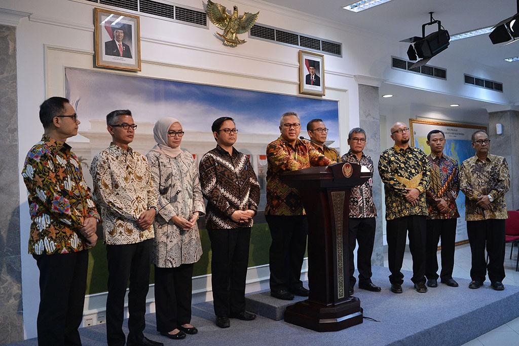 KPU Temui Jokowi Laporkan Soal Pilkada 2018 dan Pemilu 2019