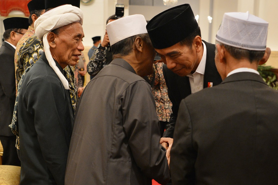 Jokowi Buka Acara MTQ Internasional II