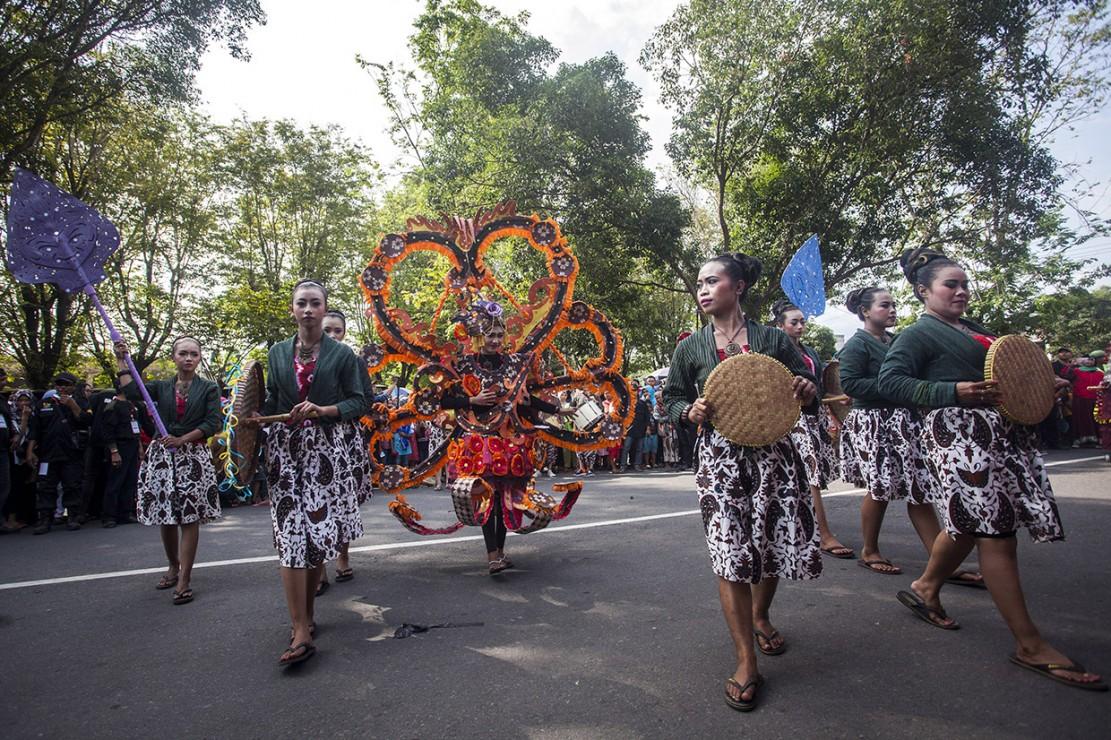Kemeriahan IKM Carnival 2018 di Sleman