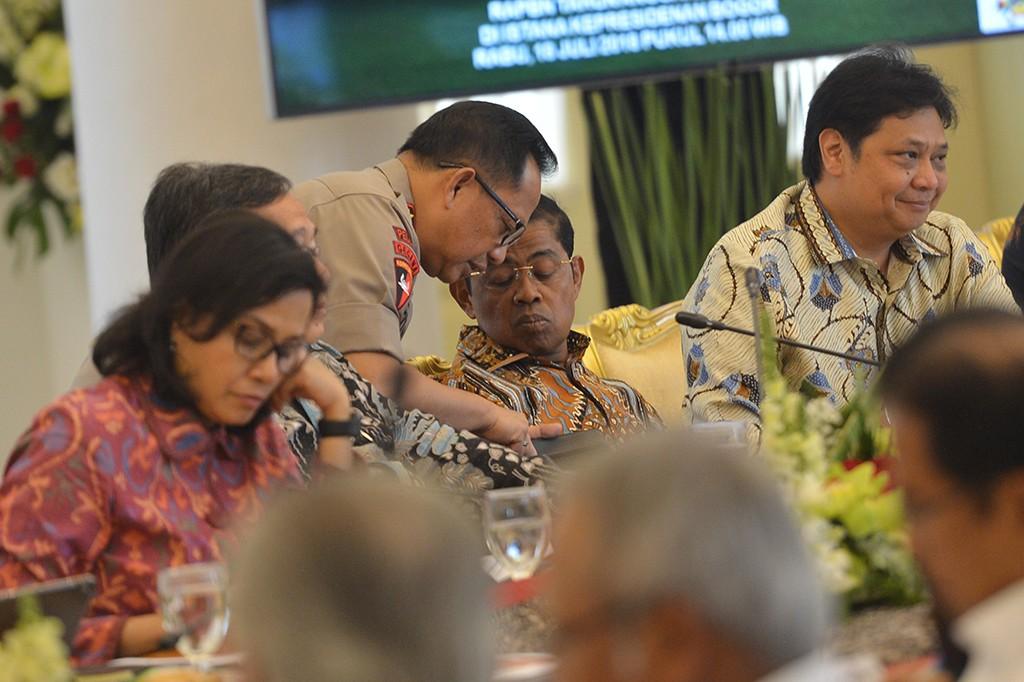 Jokowi: Penyusunan RAPBN 2019 Harus Realistis