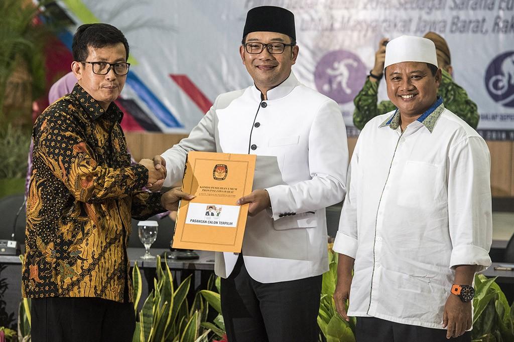 Ridwan Kamil Resmi Jadi Gubernur Jabar Terpilih