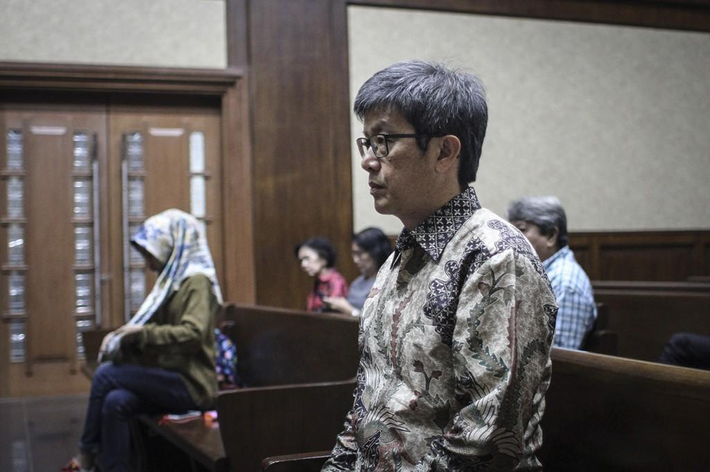 Kasus KTP-El, Anang Sugiana Divonis 6 Tahun Bui
