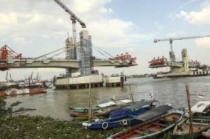 Rencana penggunaan Jembatan Musi IV untuk melancarkan arus lalu lintas selama pelaksanaan Asian Games 2018 tersebut dibatalkan karena belum selesainya jembatan tersebut.