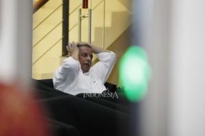 Direktur Utama PLN Sofyan Basir saat menjalani pemeriksaan di gedung Komisi Pemberantasan Korupsi (KPK).