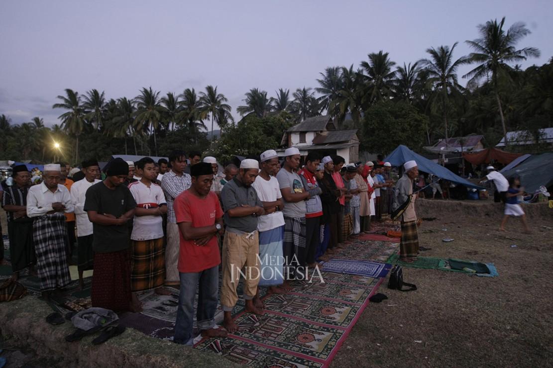 Begini Kondisi Pengungsian Korban Gempa Lombok