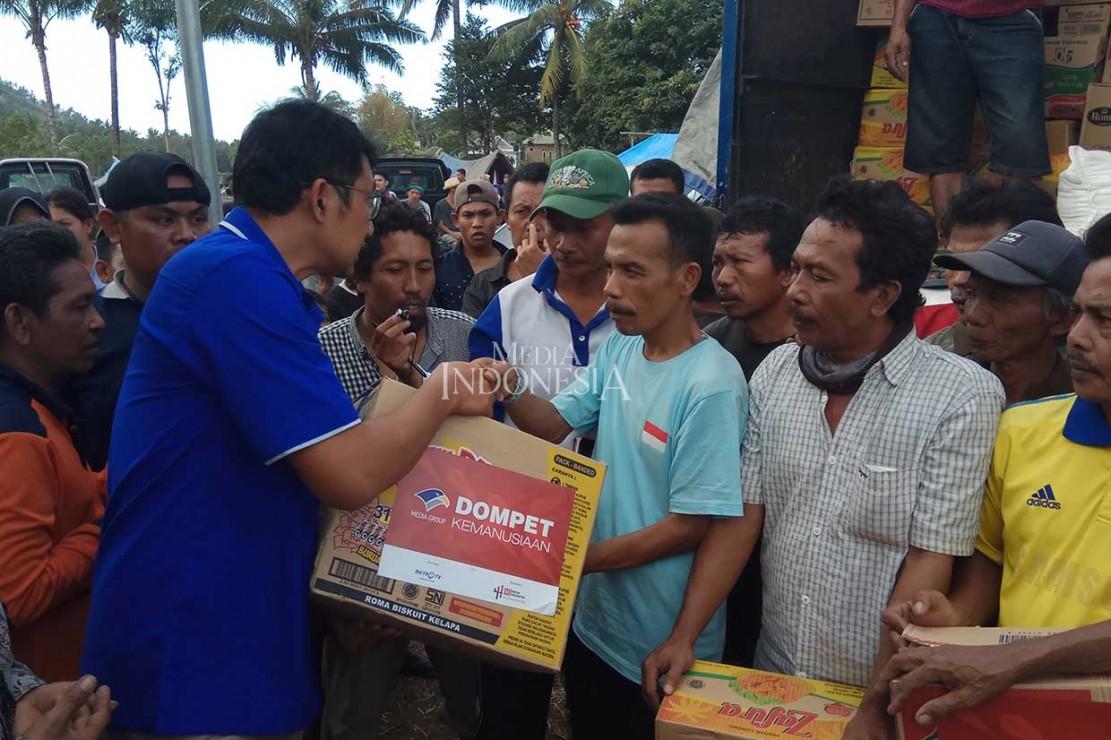 Media Group Kembali Salurkan Bantuan untuk Korban Gempa