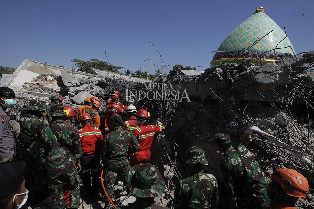 Korban Jiwa Gempa Lombok Jadi 109 Orang
